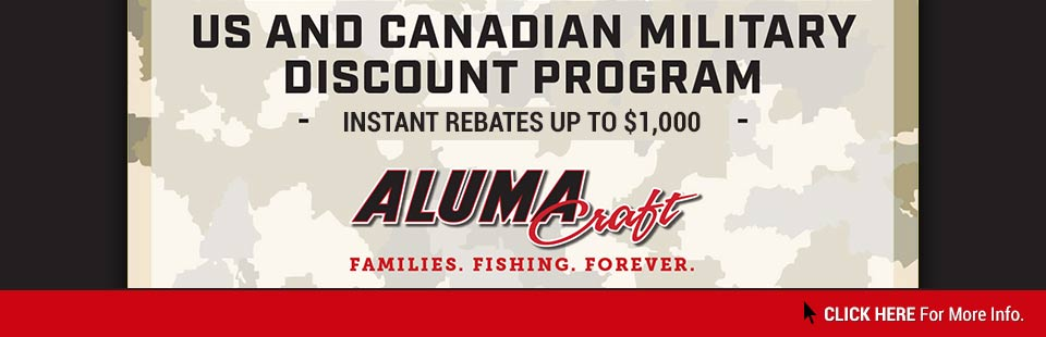 Alumacraft: Military Discount Program