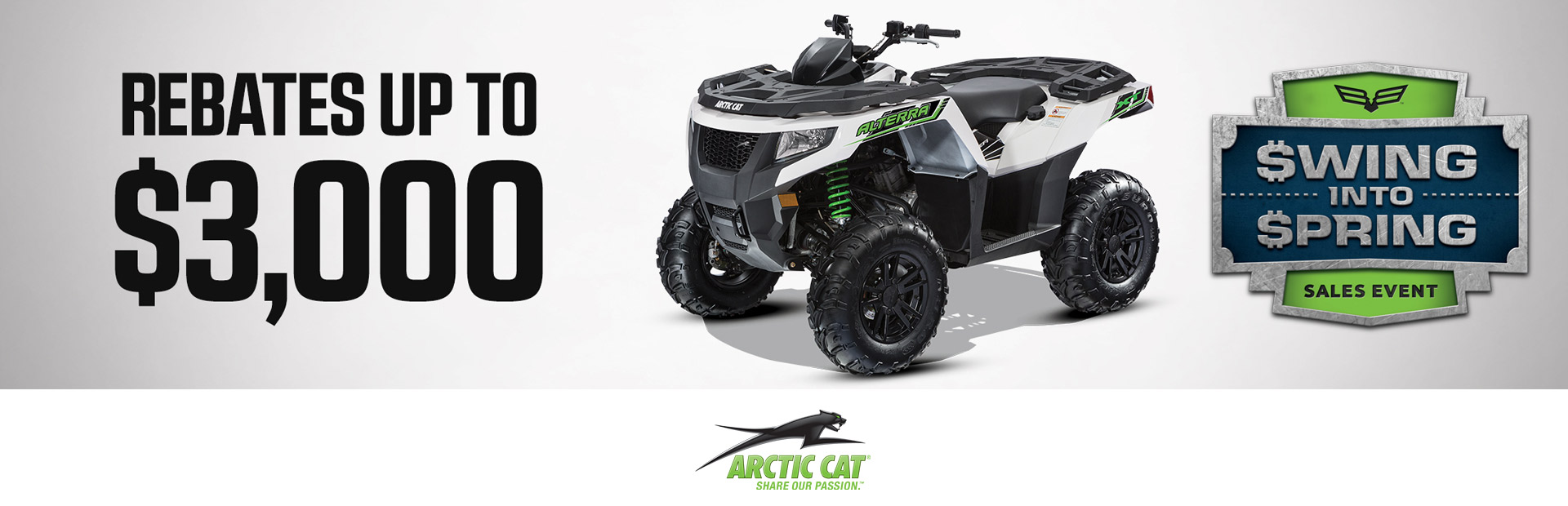 Arctic Cat: Swing Into Spring - ATVs
