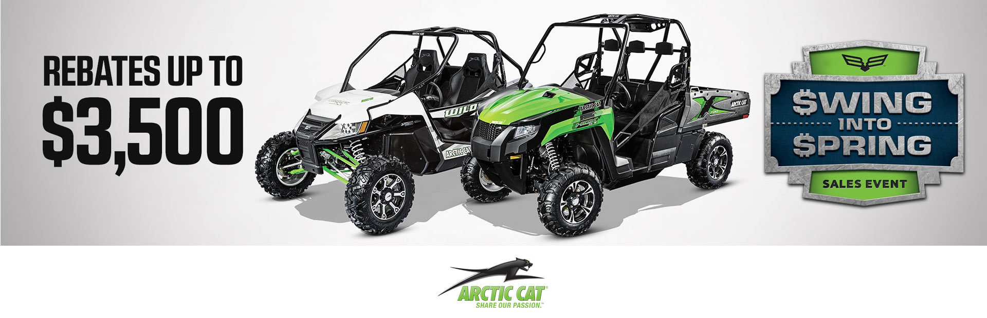 Arctic Cat: Swing Into Spring - SxS