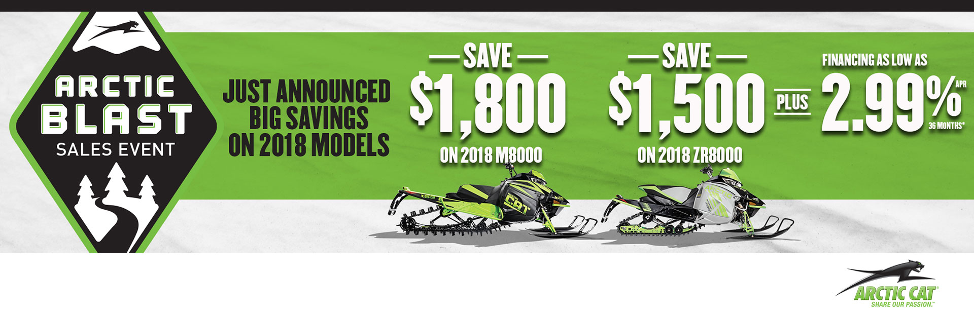 Arctic Cat: Arctic Blast Sales Event