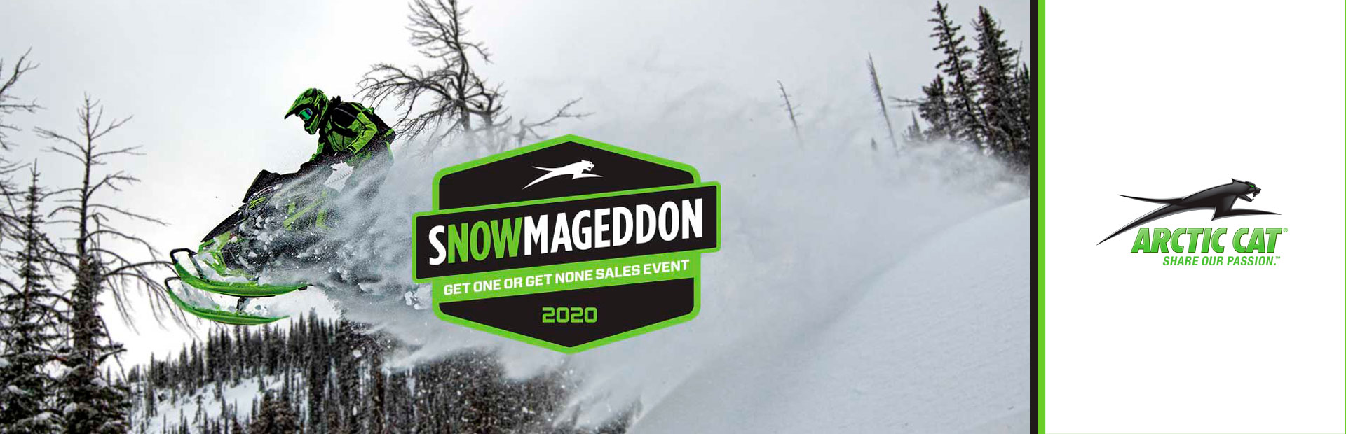 Arctic Cat: Snowmageddon Get One or Get None Sales Event
