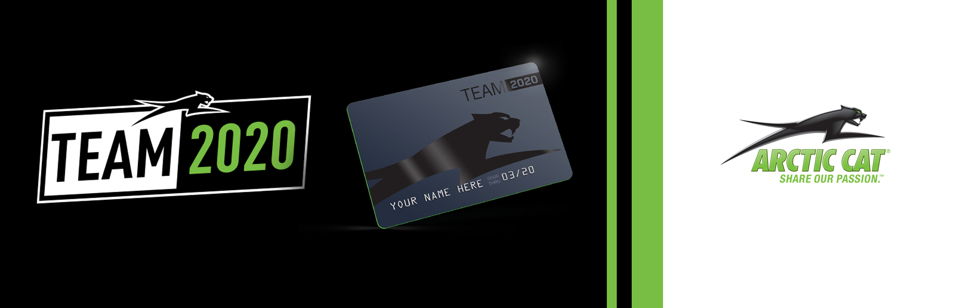 Arctic Cat: Team 2020 Card