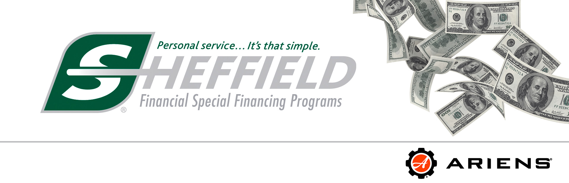 Ariens: Sheffield Financing