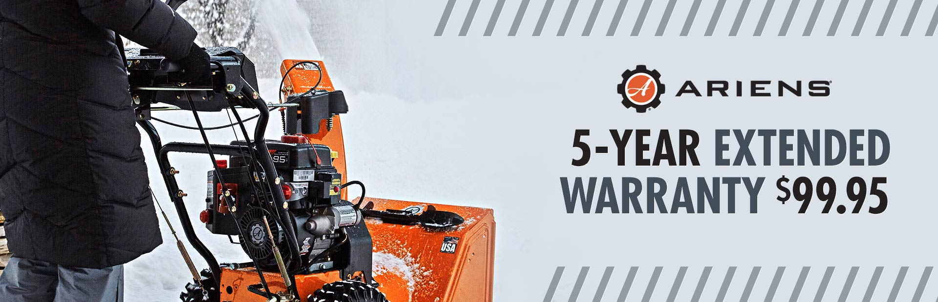 Ariens: 5-Year Extended Warranty $99.95