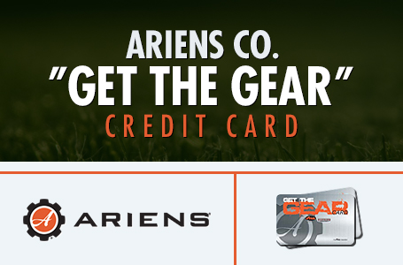 "Ariens Co. ""Get The Gear"" Credit Card"