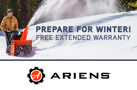 PREPARE FOR WINTER! FREE EXTENDED WARRANTY