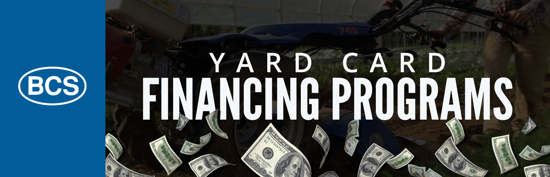 BCS America: Yard Card Financing Programs