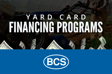 BCS America - Yard Card Financing Programs
