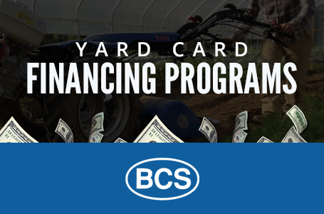 BCS America – Yard Card Financing Programs