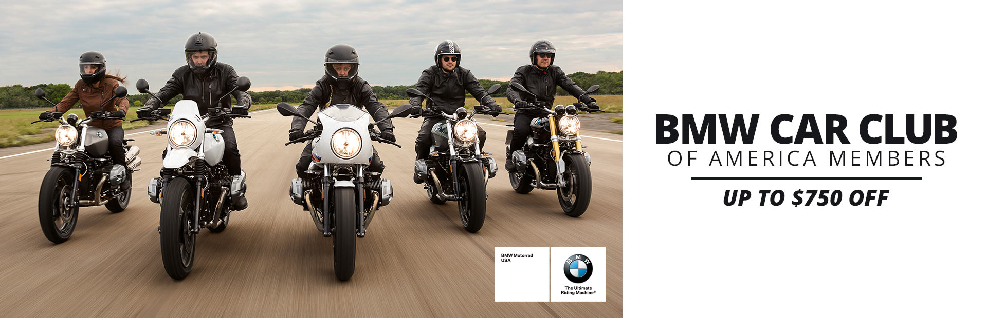 BMW: BMW Car Club of America Members Up To $750 Off