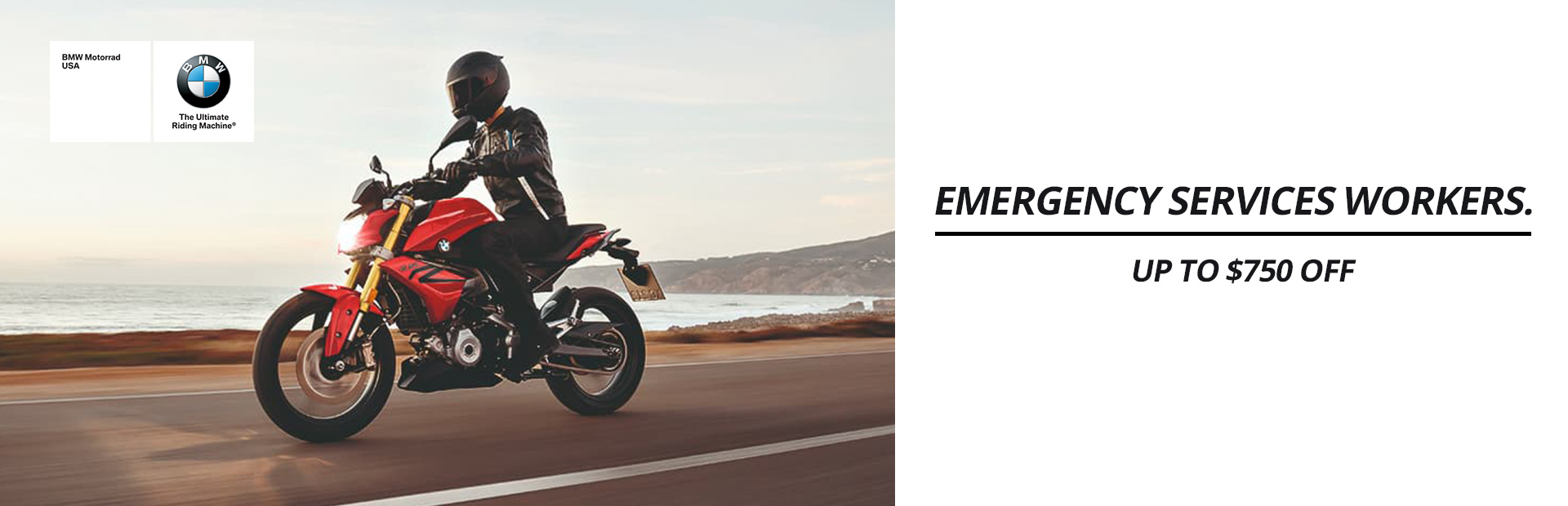 BMW: Emergency Services Workers Up To $750 Off