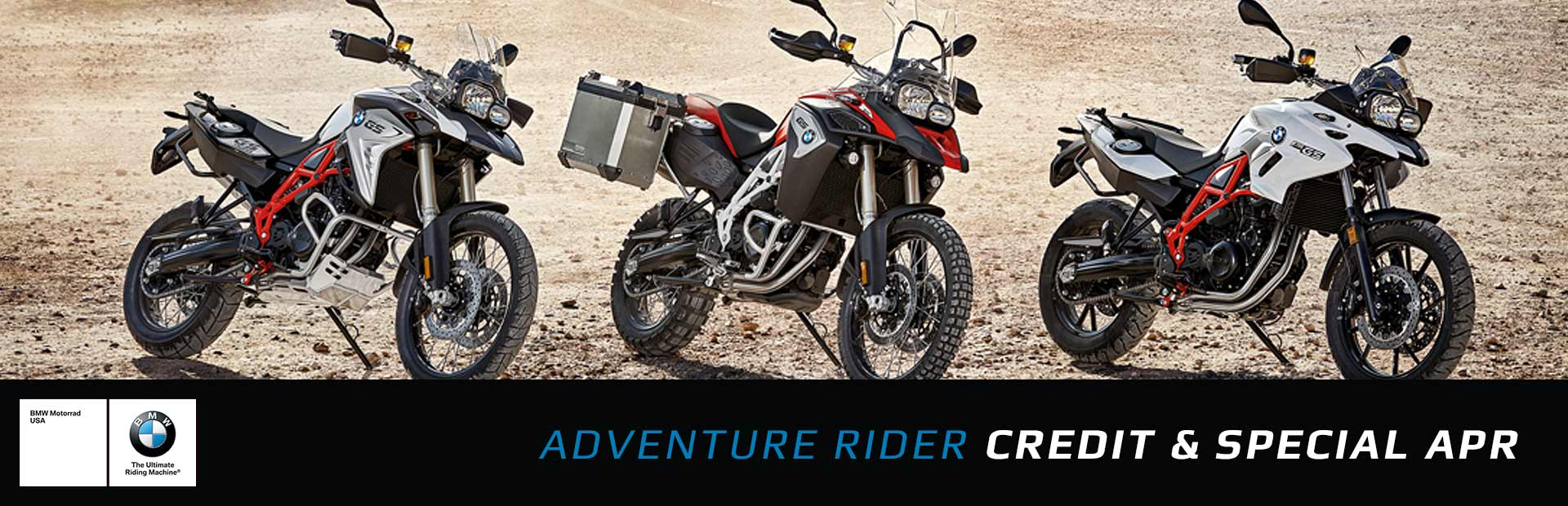 BMW: Adventure Rider Credit and Special APR