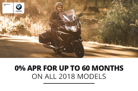 0% APR For Up To 60 Months On All 2018 Models