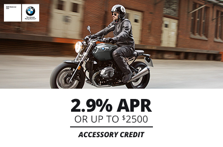 2.9% APR Or Up To $2500 Accessory Credit
