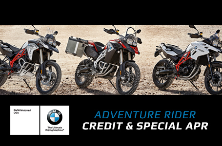 Adventure Rider Credit and Special APR