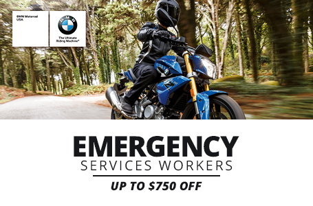 Emergency Services Workers Up To $750 Off