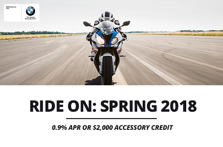 Ride On: Spring 2018