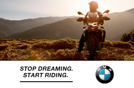 BMW - STOP DREAMING. START RIDING.
