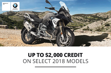 UP TO $2,000 CREDIT ON SELECT 2018 MODELS