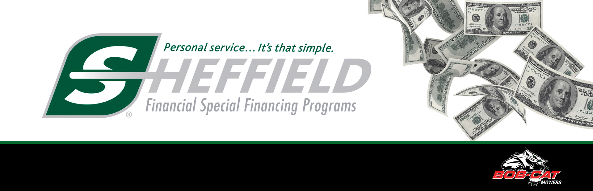 BOB-CAT®: Sheffield Retail Financing Programs