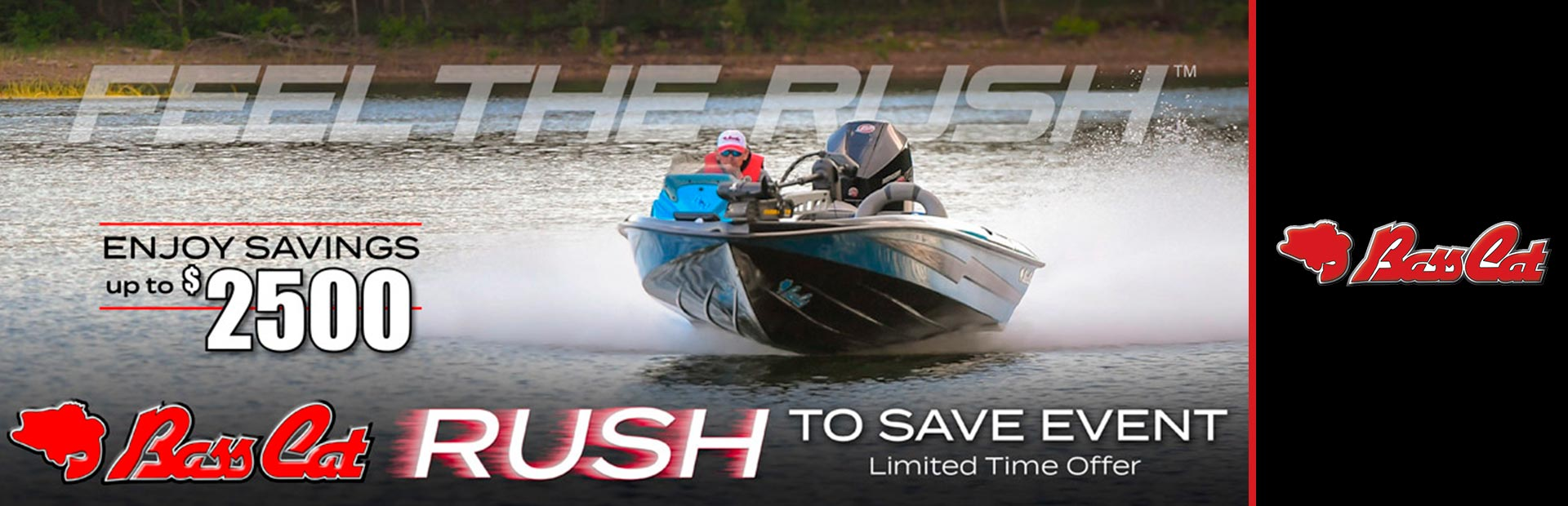 Bass Cat Boats: Bass  Cat Rush To Save Event