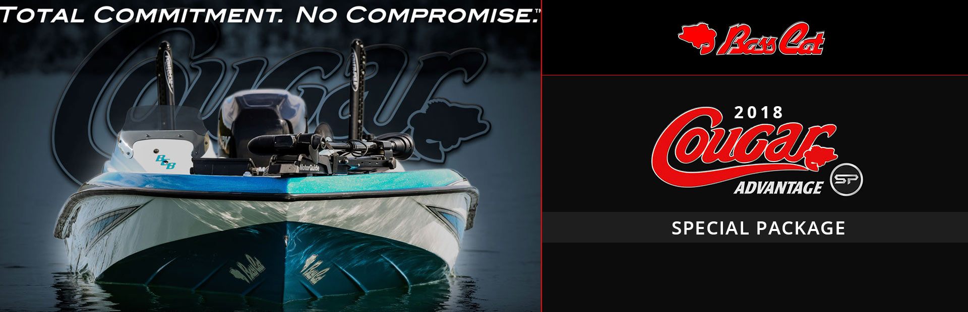 Bass Cat Boats: 2018 Cougar Advantage Special Package