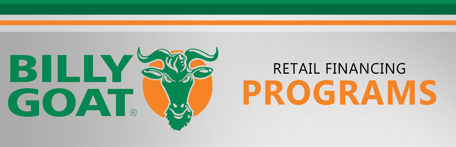 Billy Goat: Retail Financing