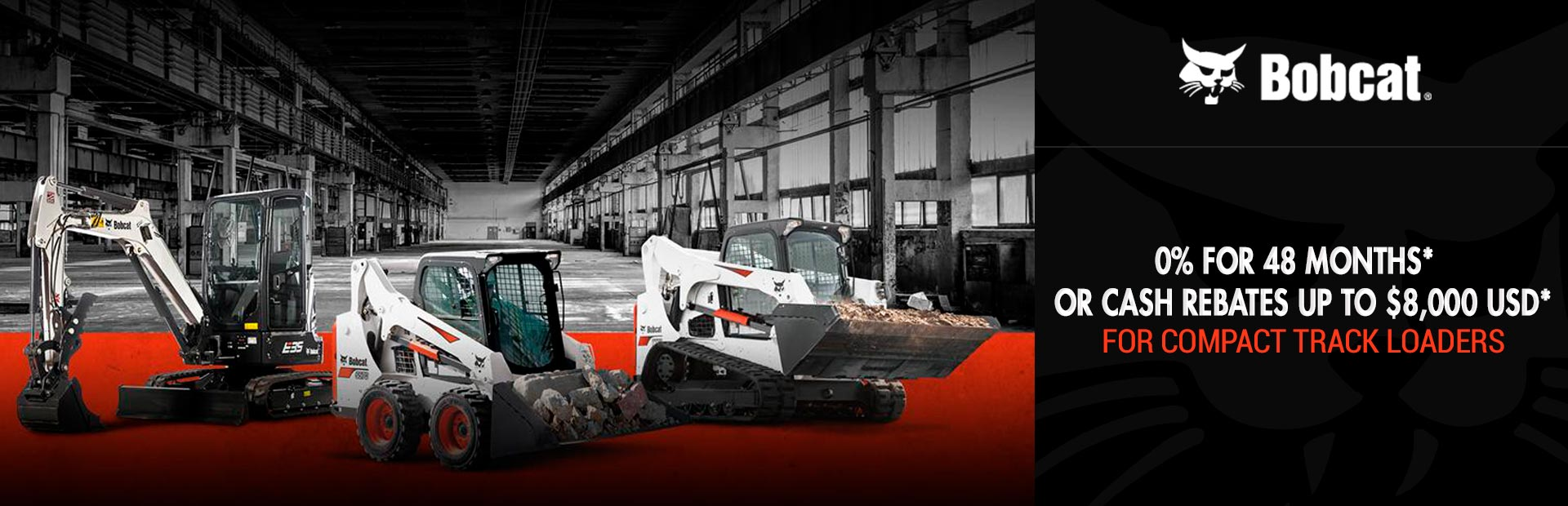 Bobcat: Compact Track Loaders