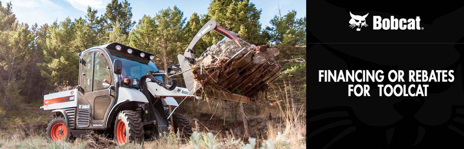 Bobcat: Financing or Rebates for Toolcat™