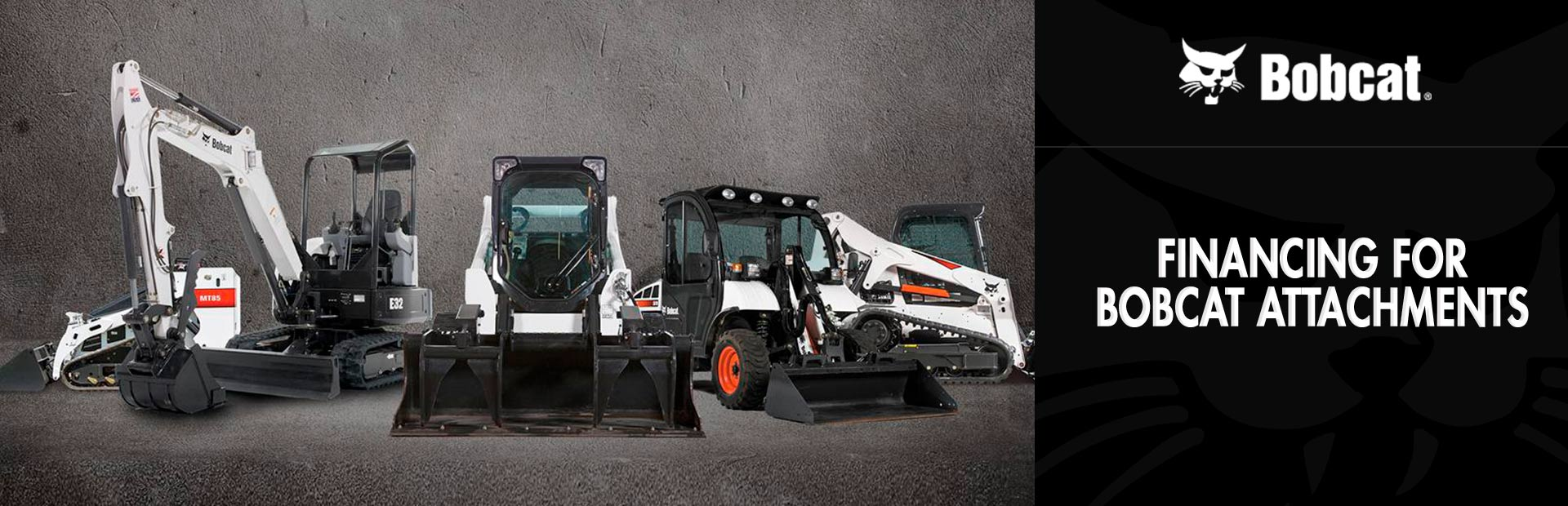 Bobcat: Financing for Bobcat Attachments