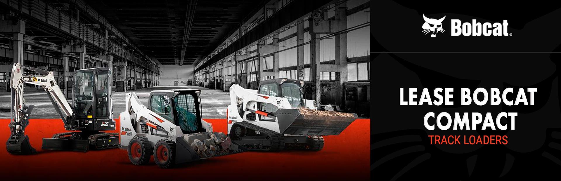 Bobcat: Lease Bobcat Compact Track Loaders