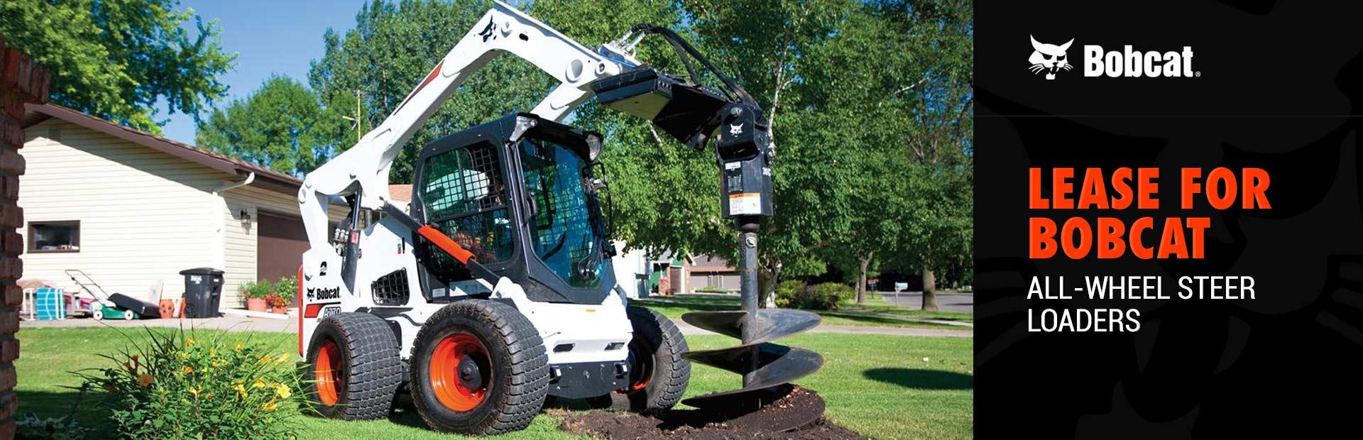 Bobcat: Lease for Bobcat All-Wheel Steer Loaders