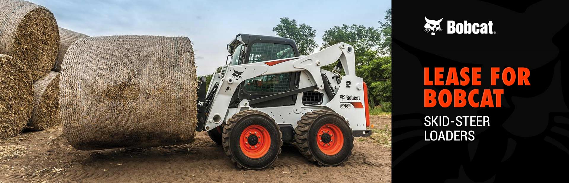 Bobcat: Lease for Bobcat Skid-Steer Loaders
