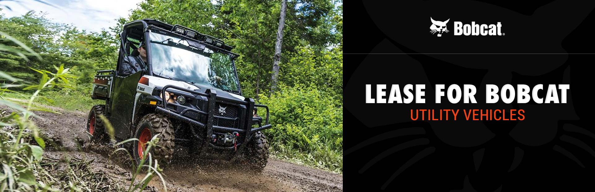 Bobcat: Lease for Bobcat Utility Vehicles