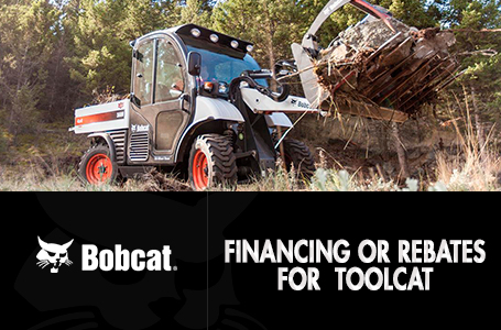 Financing or Rebates for Toolcat™
