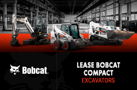 Lease Bobcat Compact Excavators