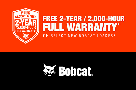 2-Year, 2,000-Hour Full Warranty