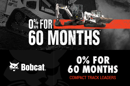 0% for 60 Months for Compact Track Loaders