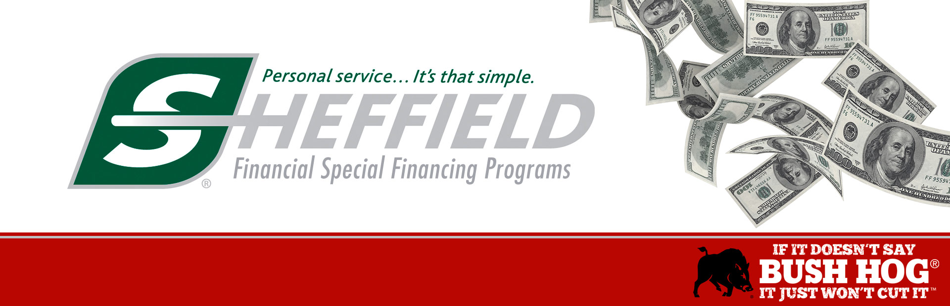 Bush Hog: Sheffield Financing Programs