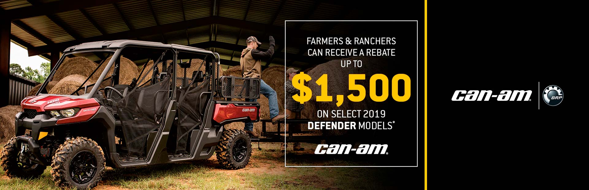 Can-Am: Ag Sales Event