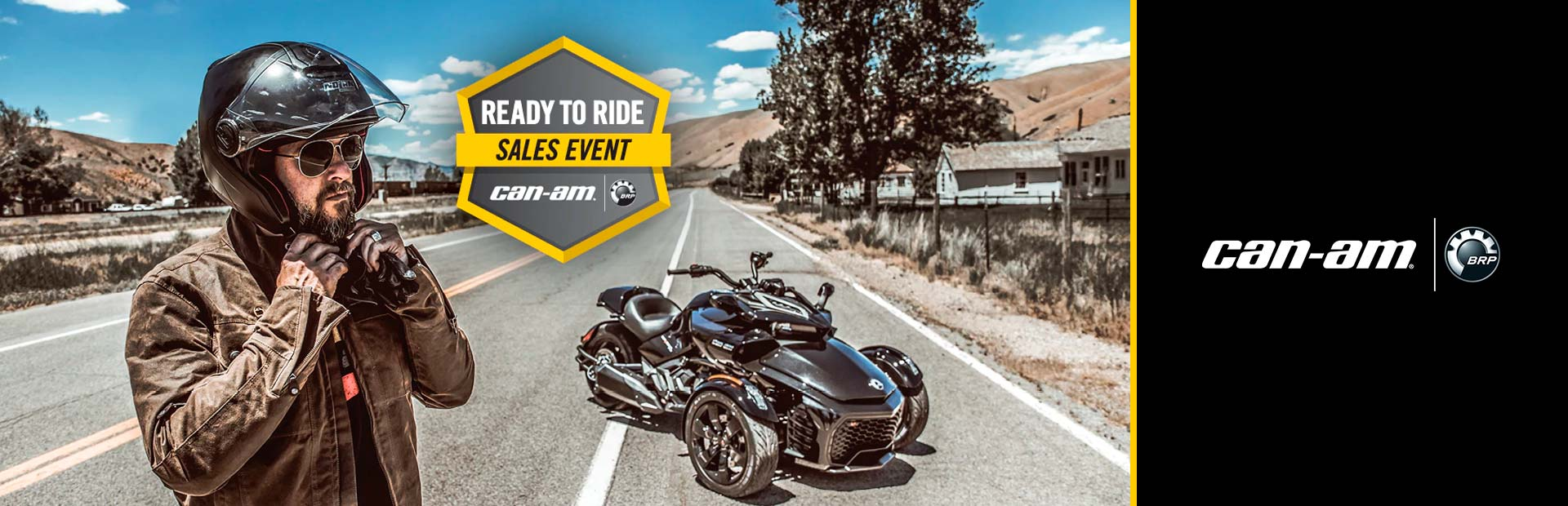 Can-Am: Ready To Ride Sales Event -Spyder