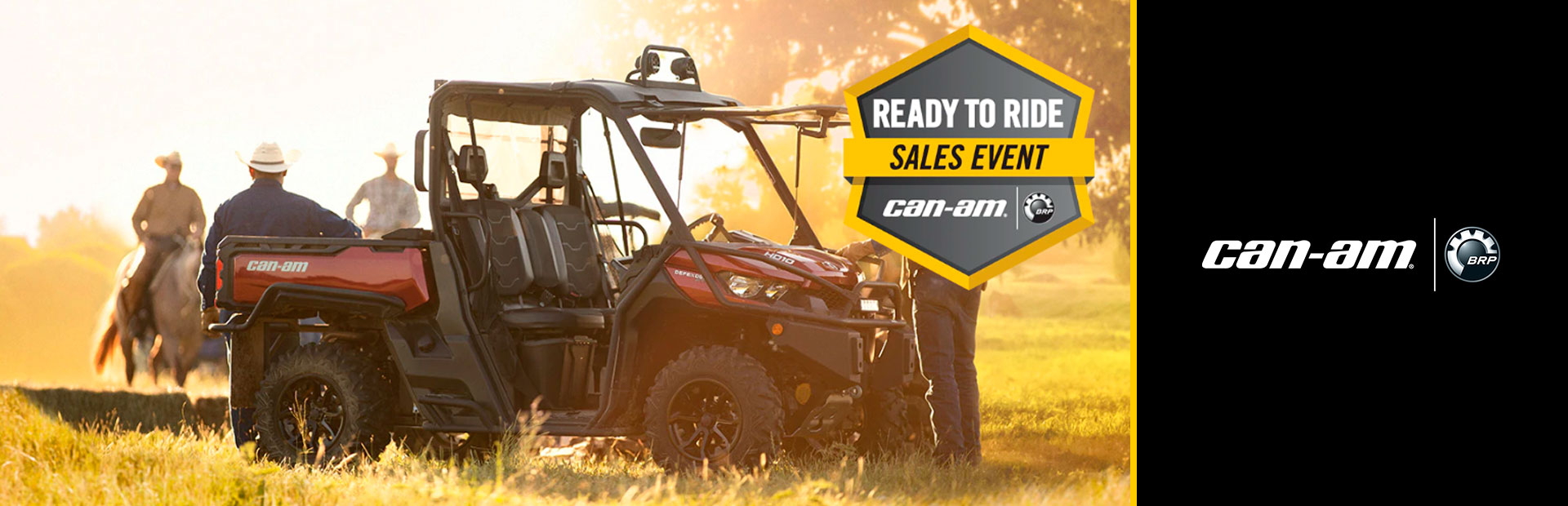 Can-Am: Ready to Ride Sales Event - Defender