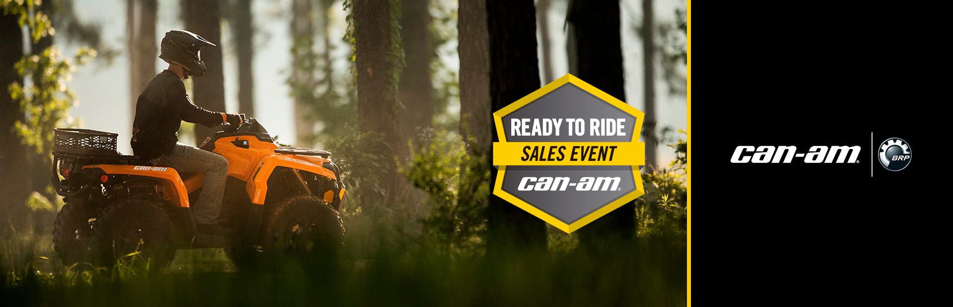 Can-Am: Ready to Ride Sales Event - Outlander