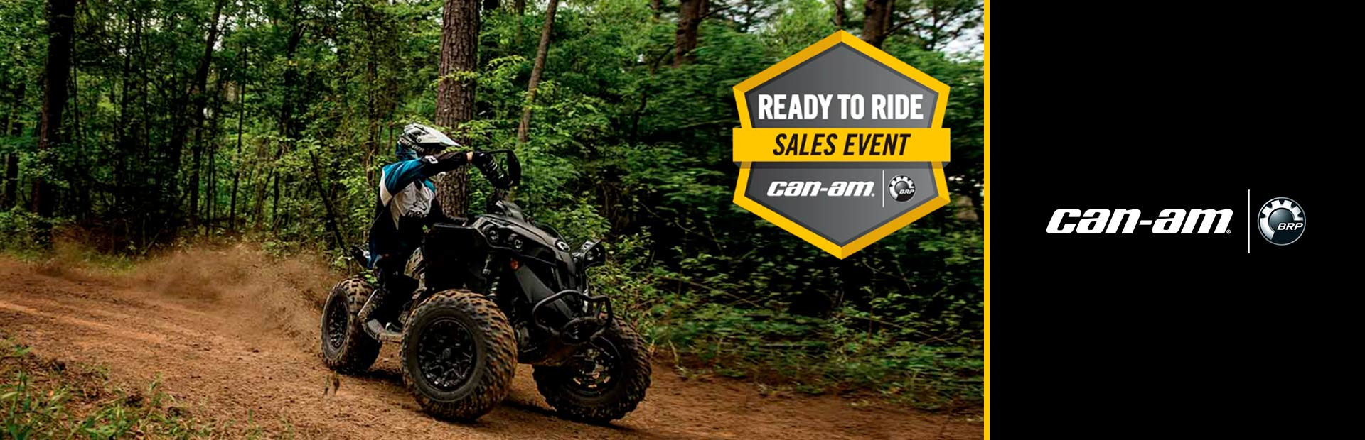 Can-Am: Ready yo Ride Sales Event - Renegade
