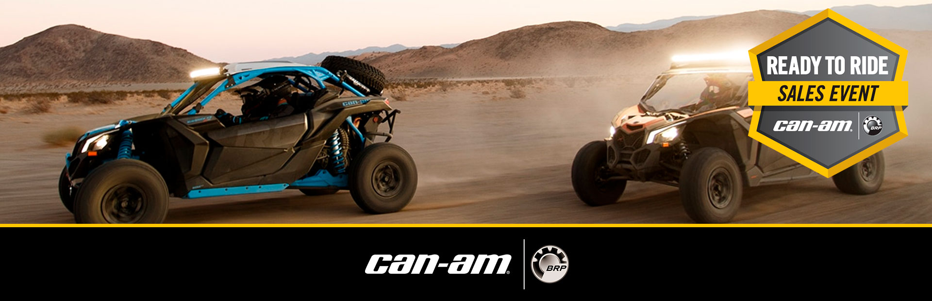 Can-Am: Ready To Ride Sales Event - X3 MAVERICK