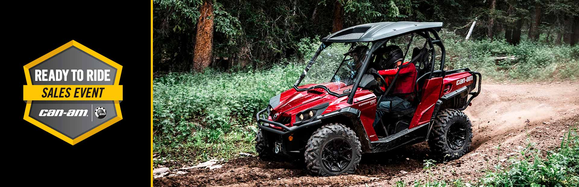 Can-Am: Ready To Ride Sales Event -Commander