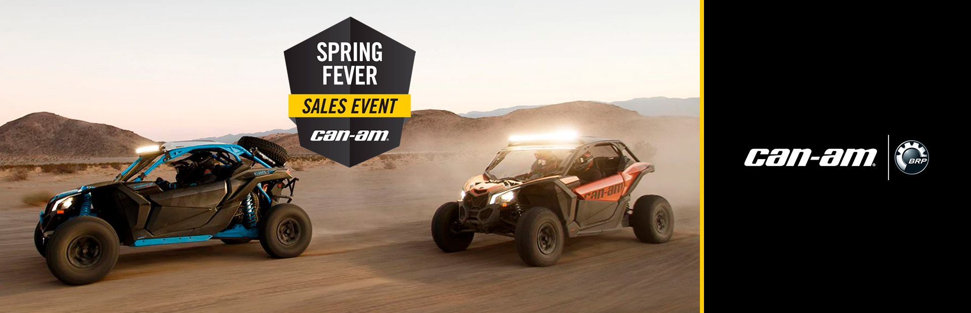 Can-Am: Spring Fever Sales Event-Maverick X3