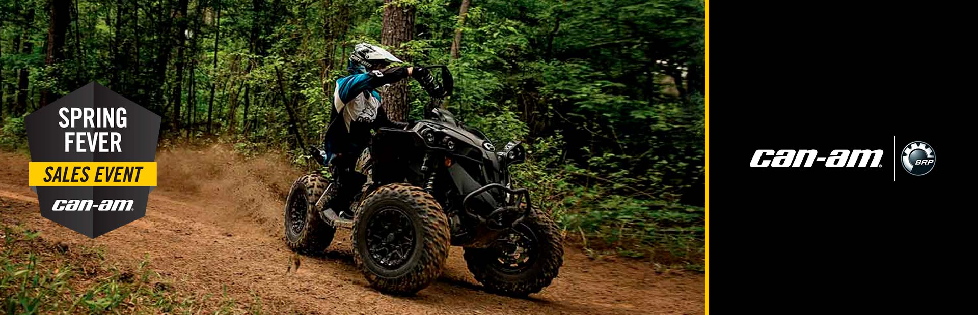 Can-Am: Spring Fever Sales Event-Renegade