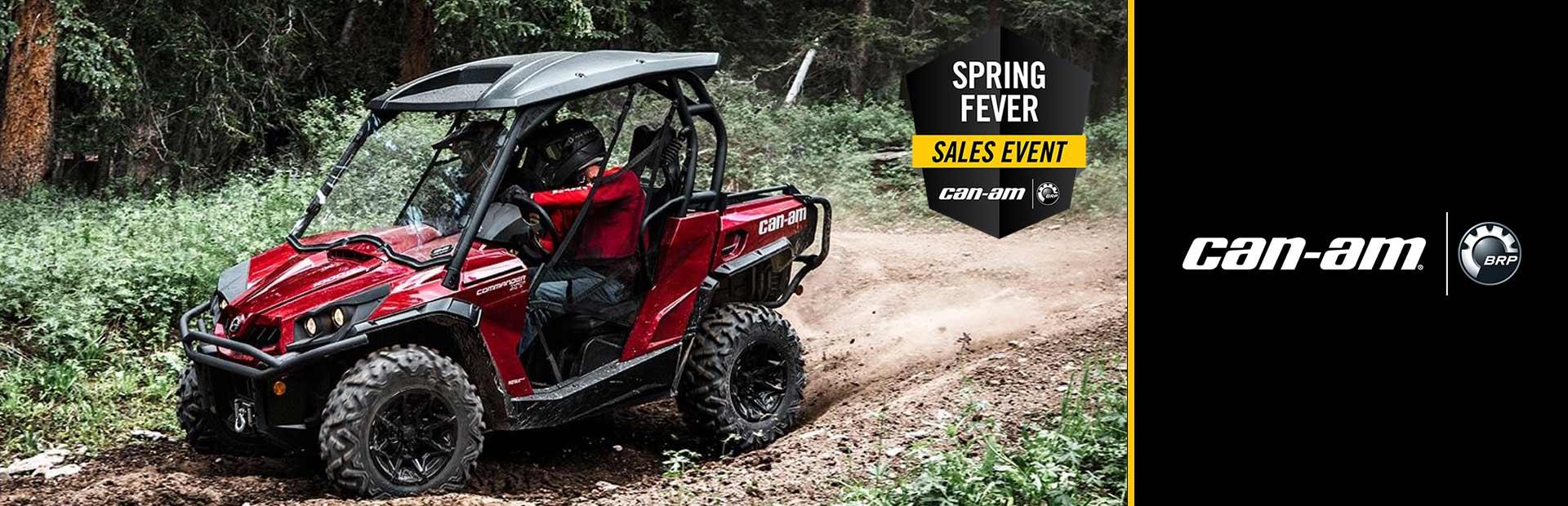 Can-Am: Spring Fever Sales Event-Commander