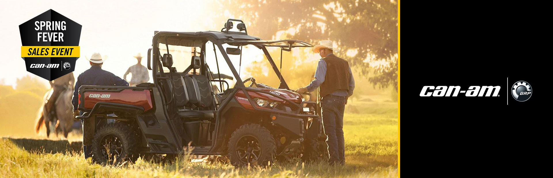 Can-Am: Spring Fever Sales Event-Defender